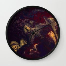 Depths of the Soul Wall Clock