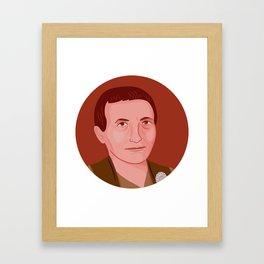 Queer Portrait - Gertrude Stein Framed Art Print
