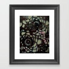 Black Mint Framed Art Print