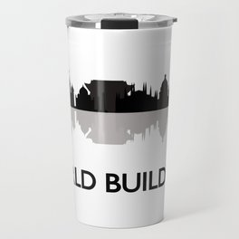 world skyline Travel Mug
