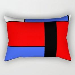 Mondrian #51 Rectangular Pillow