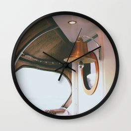 Montreal - Bell - On a Boat  Wall Clock