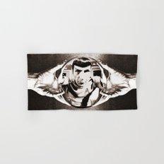 Escher Inspired Spock (Star Trek) Hand & Bath Towel