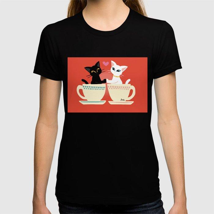 Pair cup T-shirt