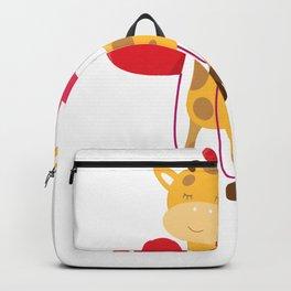 Kids Valentine Animal Valentine Giraffe Valentine Backpack