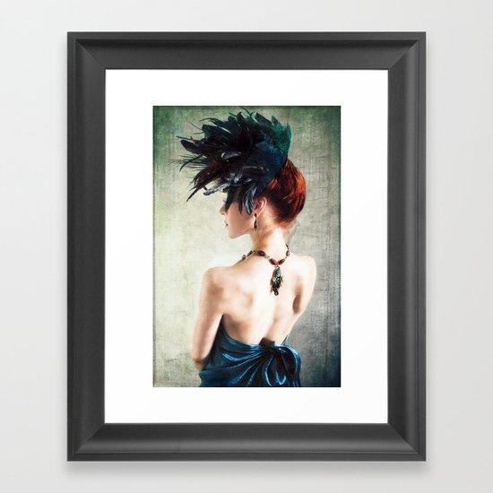 Madame Peacock II Framed Art Print