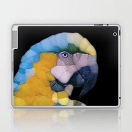 Colorful Glass Parrot Laptop & iPad Skin