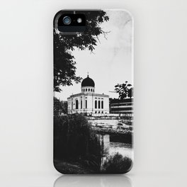 | journey in space-time - a sanctuary for the spirit, chapter II | iPhone Case