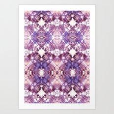 Purple Circle Art Print
