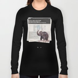 His Master's Voice - The Elephant Long Sleeve T-shirt