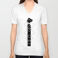 persona V-neck T-shirts featuring Persona I by Martin Stratiev