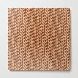 Gingerbread Man Metal Print