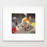 jfk Framed Art Prints featuring JFK by KTBenes