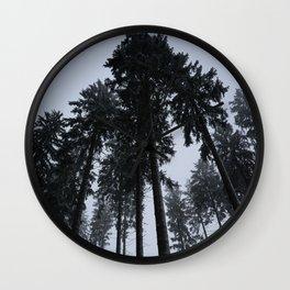 Winterforrest I Wall Clock