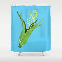 Genetically Modify Food Shower Curtain