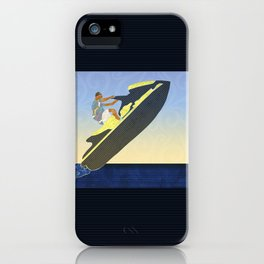 Personal watercraft iPhone Case