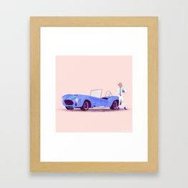 G'mas and their Hotrods Series, no.05 Shelby Cobra Framed Art Print