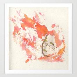 Soul on Fire Art Print