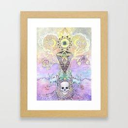 integration Framed Art Print