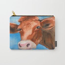 Red Heifer Carry-All Pouch