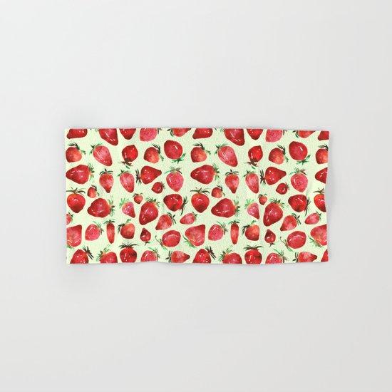 Strawberry vibes Hand & Bath Towel