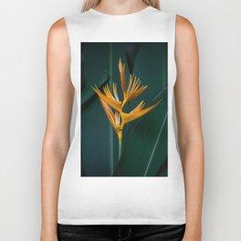 Orchids yellow Biker Tank