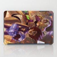 megaman iPad Cases featuring Megaman X Samus by ImmarArt