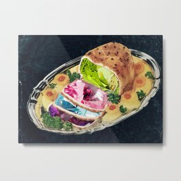 Gem Roast Metal Print
