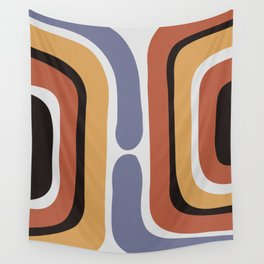 Reverse Shapes II Wall Tapestry