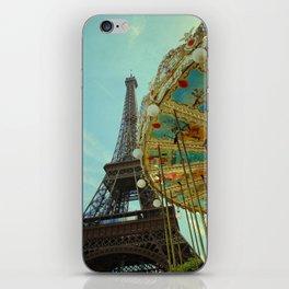 Eiffel Tower & Carrousel  iPhone Skin
