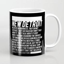 New Detroit (Dark shirt version) Coffee Mug