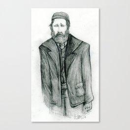 Old Man Blues Canvas Print