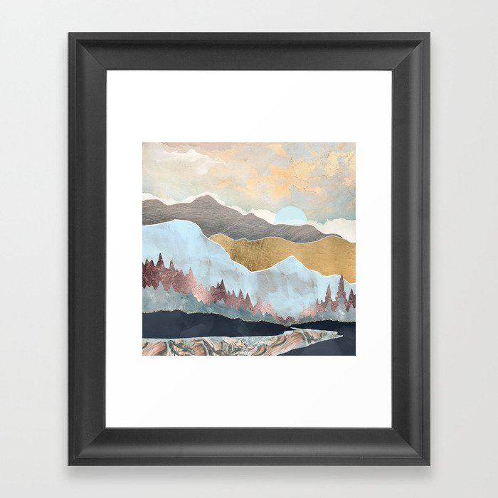 Winter Light Gerahmter Kunstdruck