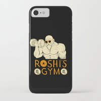 gym iPhone & iPod Cases featuring roshi's gym by Louis Roskosch