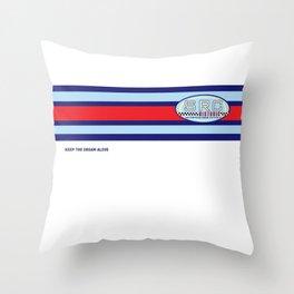 SRC Preparations Historic Throw Pillow