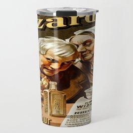 Vintage poster - Hamlin's Wizard Oil Travel Mug
