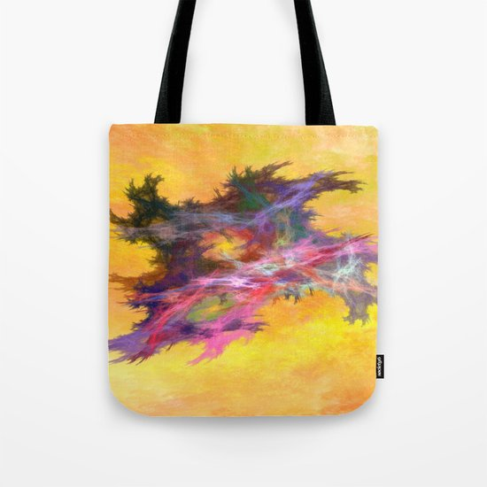 en space   (A7 B0057) Tote Bag