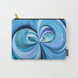 348 - Abstract Plant design Carry-All Pouch