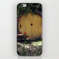 hobbit iPhone & iPod Skins featuring The Hobbit by Cynthia del Rio