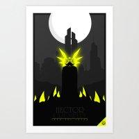 crowley Art Prints featuring Hector Crowley by Oblivion Creative