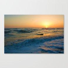 Ocean Sunset 1 Canvas Print