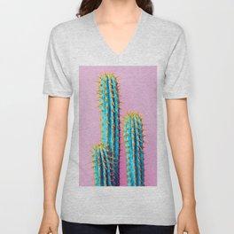 Succulent Cactus Art Unisex V-Neck