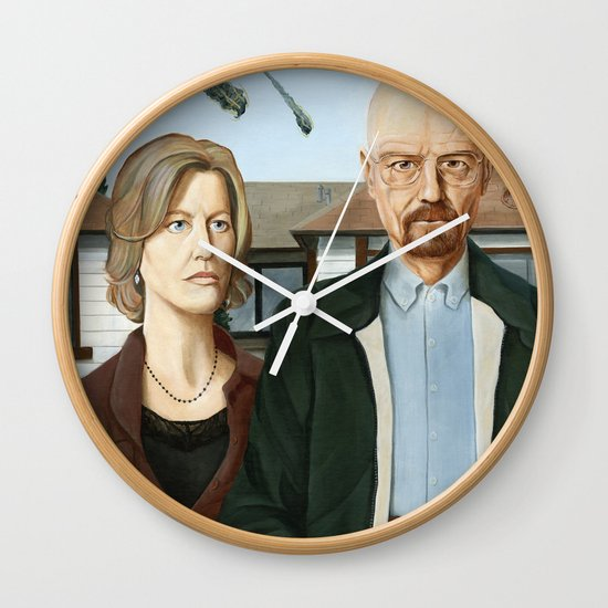 The Heisenbergs Wall Clock