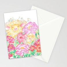 Happy New Year of the Sheep! Stationery Cards