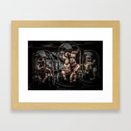 Creepy Dolls Framed Art Print