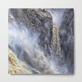 The magnificent Barron Falls Metal Print