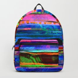 bohemian lines Backpack