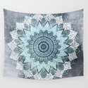 BOHOCHIC MANDALA IN BLUE by nika