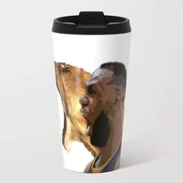 LeBron Lion Roar Travel Mug