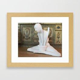 Growing Pains  Framed Art Print